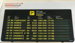 zmiana terminu lotu